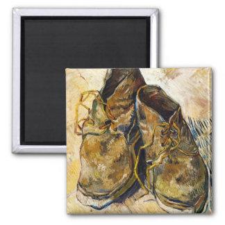 フィンセント・ファン・ゴッホの芸術の絵画靴 マグネット