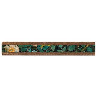 フィンセント・ファン・ゴッホの野生のバラのヴィンテージの花柄の芸術 定規