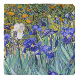 フィンセント・ファン・ゴッホは花のヴィンテージのファインアートを絞ります トリベット