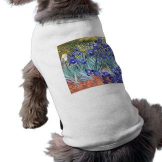フィンセント・ファン・ゴッホは花のヴィンテージのファインアートを絞ります ペット服