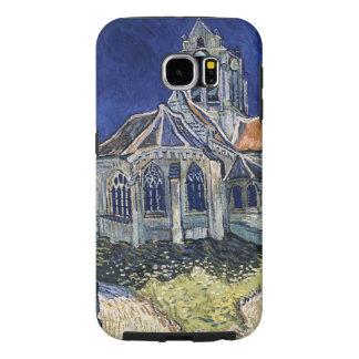 フィンセント・ファン・ゴッホを絵を描く教会Auvers-sur-Oise Samsung Galaxy S6 ケース