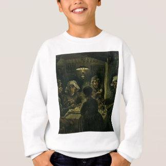 フィンセント・ファン・ゴッホポテトの食べる人の絵を描くこと。 芸術 スウェットシャツ