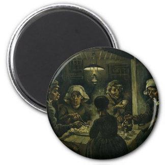 フィンセント・ファン・ゴッホポテトの食べる人の絵を描くこと。 芸術 マグネット