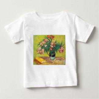 フィンセント・ファン・ゴッホ著オレアンダーのプリント ベビーTシャツ