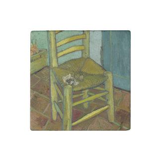フィンセント・ファン・ゴッホ著ゴッホの椅子 ストーンマグネット
