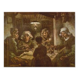 フィンセント・ファン・ゴッホ著ポテトの食べる人 カード