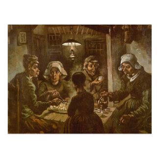 フィンセント・ファン・ゴッホ著ポテトの食べる人 ポストカード