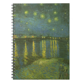 フィンセント・ファン・ゴッホ著ローヌ上の星明かりの夜 ノートブック