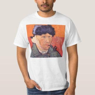 フィンセント・ファン・ゴッホ著切られた耳を搭載する自画像 Tシャツ