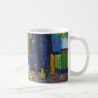 フィンセント・ファン・ゴッホ著夜のカフェ台地 コーヒーマグカップ