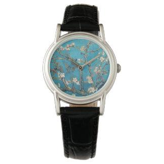 フィンセント・ファン・ゴッホ著活気付くアーモンド木 腕時計