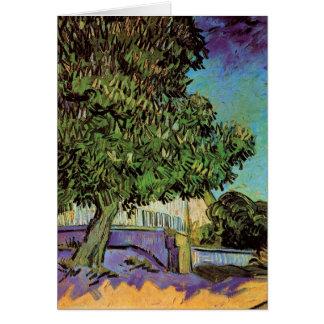 フィンセント・ファン・ゴッホ著花のクリの木 カード