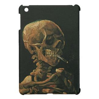 フィンセント・ファン・ゴッホ著非常に熱いタバコが付いているスカル iPad MINI カバー