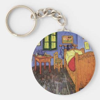 フィンセント・ファン・ゴッホ著Arlesのヴィンチェンツォの寝室 キーホルダー
