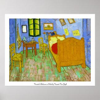 フィンセント・ファン・ゴッホ著Arlesのヴィンチェンツォの寝室 ポスター