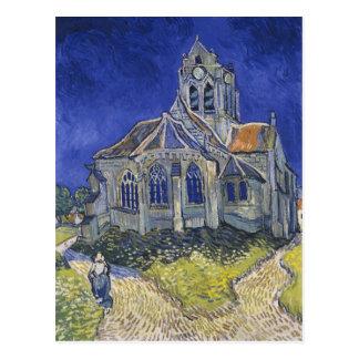 フィンセント・ファン・ゴッホ著Auversの教会 ポストカード
