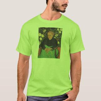 フィンセント・ファン・ゴッホ著La Berceuse (Augustine Roulin) Tシャツ
