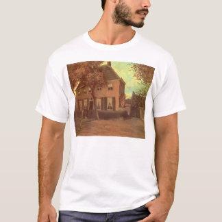 フィンセント・ファン・ゴッホ著Nuenenの牧師館 Tシャツ