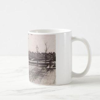 フィンセント・ファン・ゴッホ著Schenkwegの近くの橋 コーヒーマグカップ