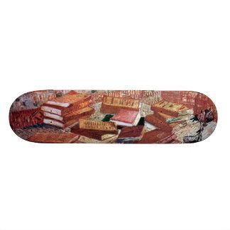 フィンセント・ファン・ゴッホ1887年著静物画 スケートボード