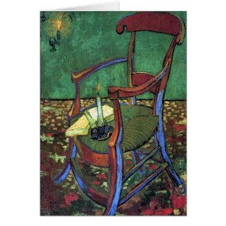 フィンセント・ファン・ゴッホ1888年著ポール・ゴーギャンの肘掛け椅子 カード