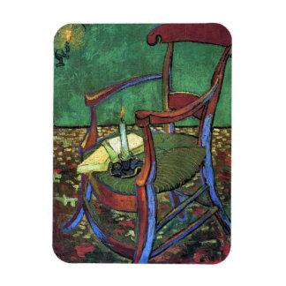 フィンセント・ファン・ゴッホ1888年著ポール・ゴーギャンの肘掛け椅子 マグネット