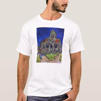 フィンセント・ファン・ゴッホ1890年著Auversの教会 Tシャツ