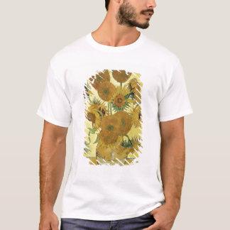 フィンセント・ファン・ゴッホ のヒマワリ1888年 Tシャツ
