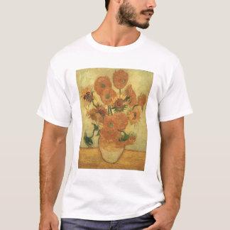 フィンセント・ファン・ゴッホ のヒマワリ1889年 Tシャツ