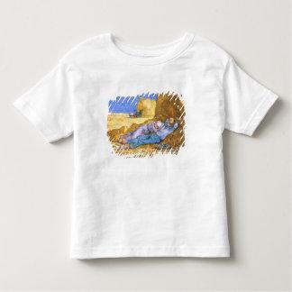 フィンセント・ファン・ゴッホ|の正午、キビの後の昼寝、 トドラーTシャツ