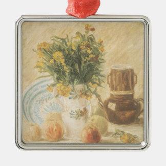 フィンセント・ファン・ゴッホ|の静物画1887年 メタルオーナメント