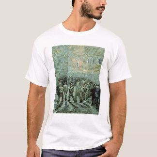 フィンセント・ファン・ゴッホ エクササイズのヤード Tシャツ