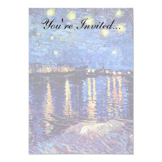 フィンセント・ファン・ゴッホ-ローヌ上の星明かりの夜 カード
