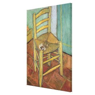 フィンセント・ファン・ゴッホ|ヴィンチェンツォの椅子1888年 キャンバスプリント