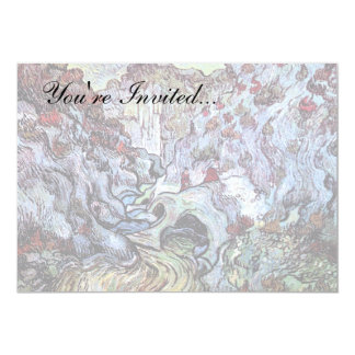 フィンセント・ファン・ゴッホ-峡谷(Les Peiroulets) カード