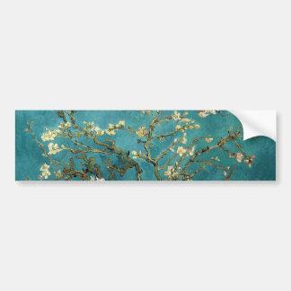 フィンセント・ファン・ゴッホ-活気付くアーモンド木の花 バンパーステッカー