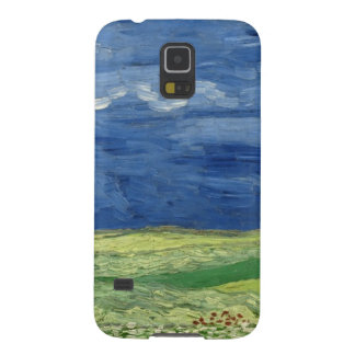 フィンセント・ファン・ゴッホ-雷雲の下のWheatfield Galaxy S5 ケース