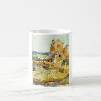 フィンセント・ファン・ゴッホ(1853-1890年) -古い製造所(1888年) コーヒーマグカップ