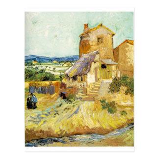 フィンセント・ファン・ゴッホ(1853-1890年) -古い製造所(1888年) ポストカード