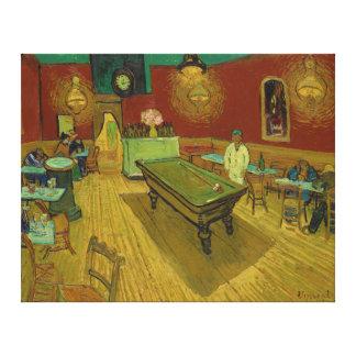 フィンセント・ファン・ゴッホ(1888年)著夜Café キャンバスプリント