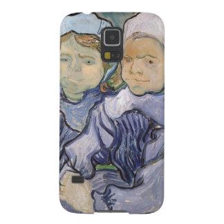 フィンセント・ファン・ゴッホ| 2人の小さな女の子1890年 GALAXY S5 ケース