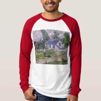 フィンセント・ファン・ゴッホ- Auversの家 Tシャツ