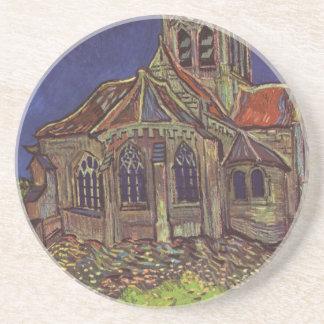 フィンセント・ファン・ゴッホ- Auversの教会 コースター