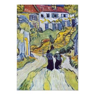 フィンセント・ファン・ゴッホ- Auversの階段 カード