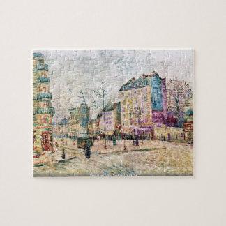フィンセント・ファン・ゴッホ- Boulevard de Clichy Puzzle ジグソーパズル