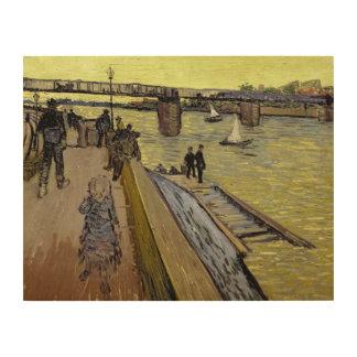 フィンセント・ファン・ゴッホ  Le Pont de Trinquetaille Arles ウッドウォールアート