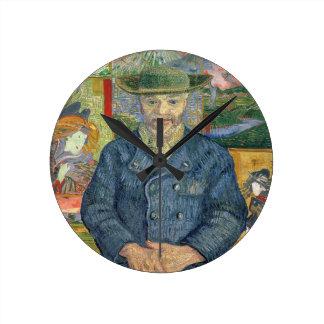 フィンセント・ファン・ゴッホ| Pereタンギー(父タンギー) ラウンド壁時計