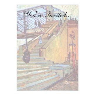フィンセント・ファン・ゴッホ- Trinquetaille橋 カード
