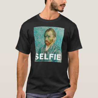 フィンセント・ファン・ゴッホSelfieのTシャツ Tシャツ