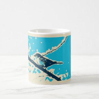 フィンチのマグ コーヒーマグカップ